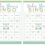 009 Free Dowload Baby Shower Bingo Template Wondrous Ideas Blank   Baby Bingo Free Printable
