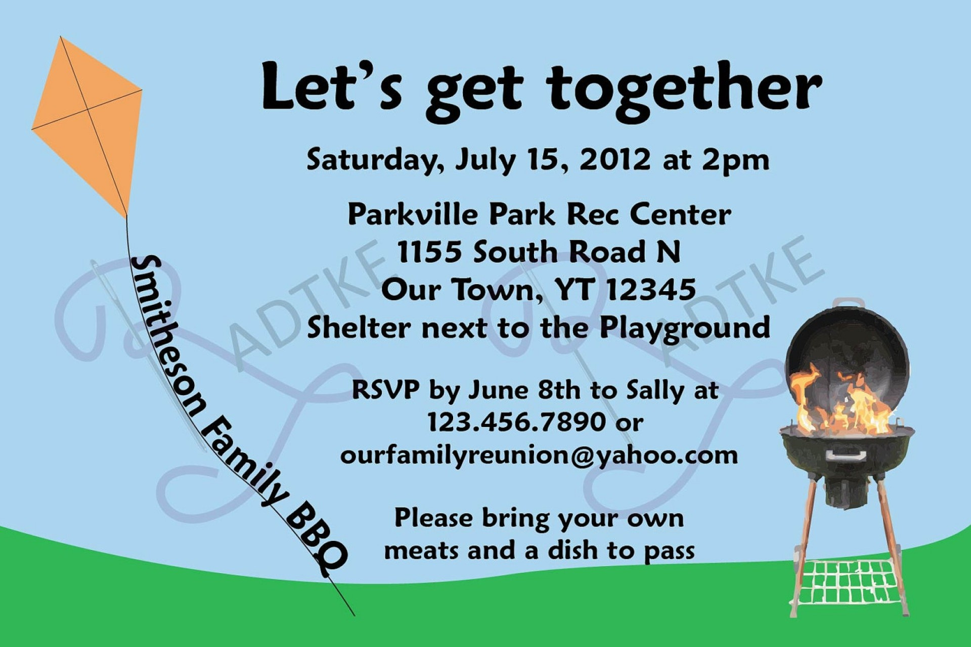 015 Free Printable Family Reunion Invitation 0 Template Ideas - Free Printable Family Reunion Invitations