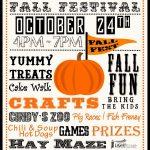 020 Storyblocks Fall Festival Hand Drawn Typographic Element Fancy   Free Printable Fall Festival Invitations