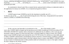 021 Free Printable Lease Agreement Template Ideasntal Forms Form – Apartment Lease Agreement Free Printable