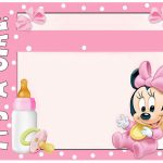 022 Baby Shower Invitation Free Templates Template Ideas Minnie   Free Printable Minnie Mouse Baby Shower Invitations