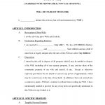 028 Free Living Will Forms To Print Printable 198465 Form Imposing   Free Printable Will Forms