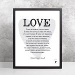 1 Corinthians 13:4 8 [Printable] | Love Is Patient, Love Is Kind   Love Is Patient Love Is Kind Free Printable