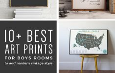 10+ Art Prints For Boys Rooms (Plus Free Printable!) | Orc Week 4 – Free Printable Art