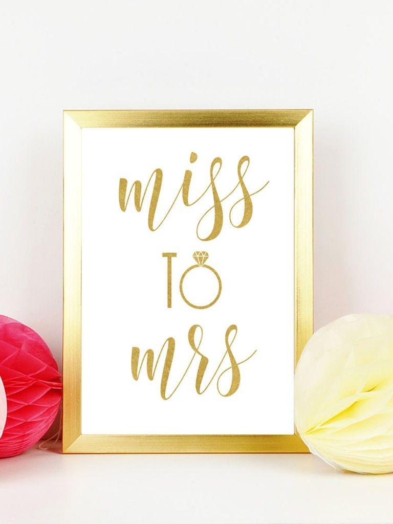 10 Easy (And Fun!) Bachelorette Printables | Wedding Fun | Bridal - Free Printable Bachelorette Signs