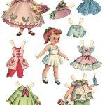 10 Free Printable Paper Dolls Sets !! | Grandparent World | Paper   Free Printable Paper Dolls From Around The World