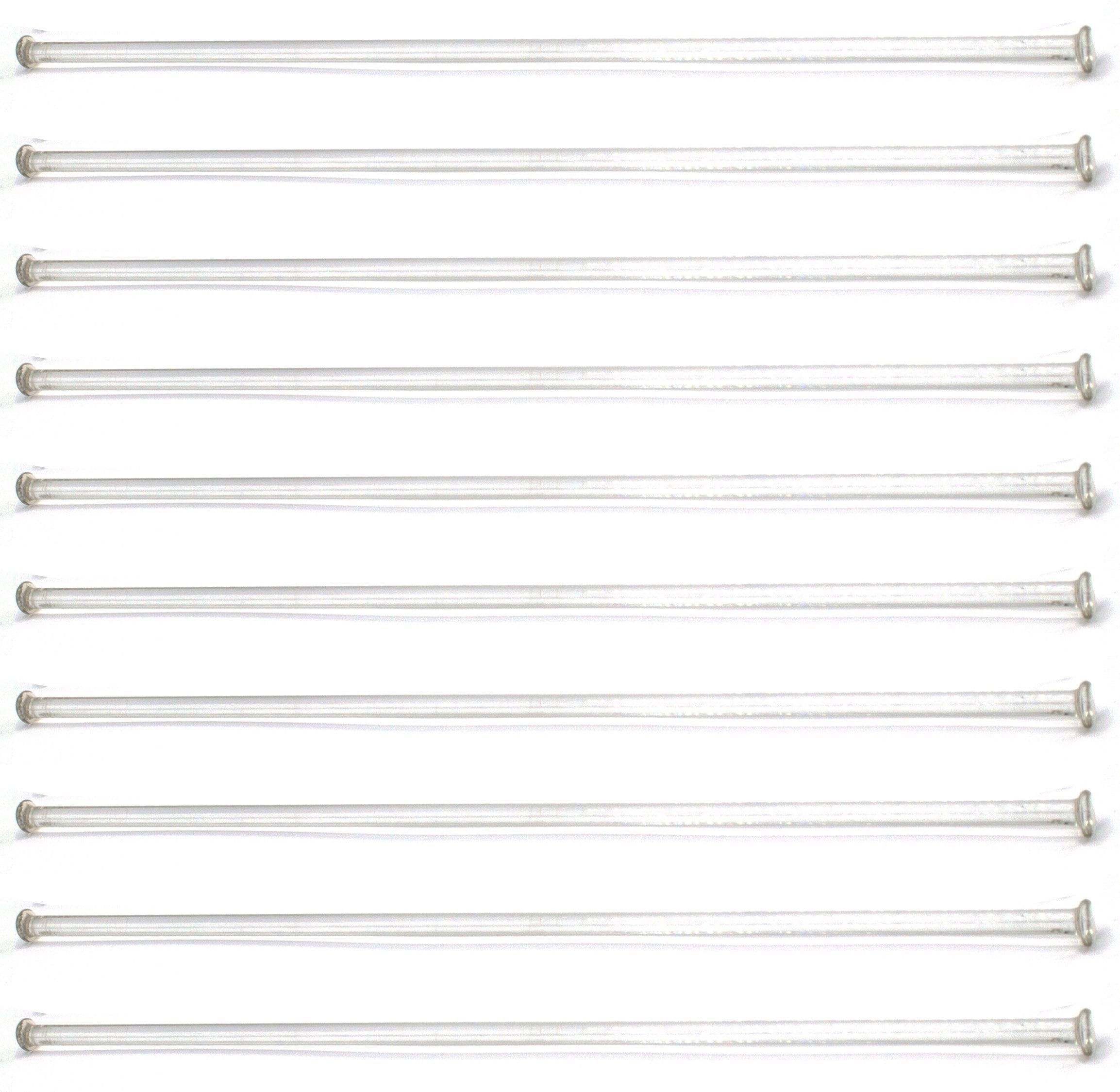"""10-Pack Of 12"""" (30Cm) Stirring Rod - Glass With Button Ends   Piano - Free Printable Blank Sheet Music"""