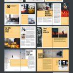100+ Free & Premium Brochure Design Psd Templates | Rapport Design   Online Brochure Maker Free Printable