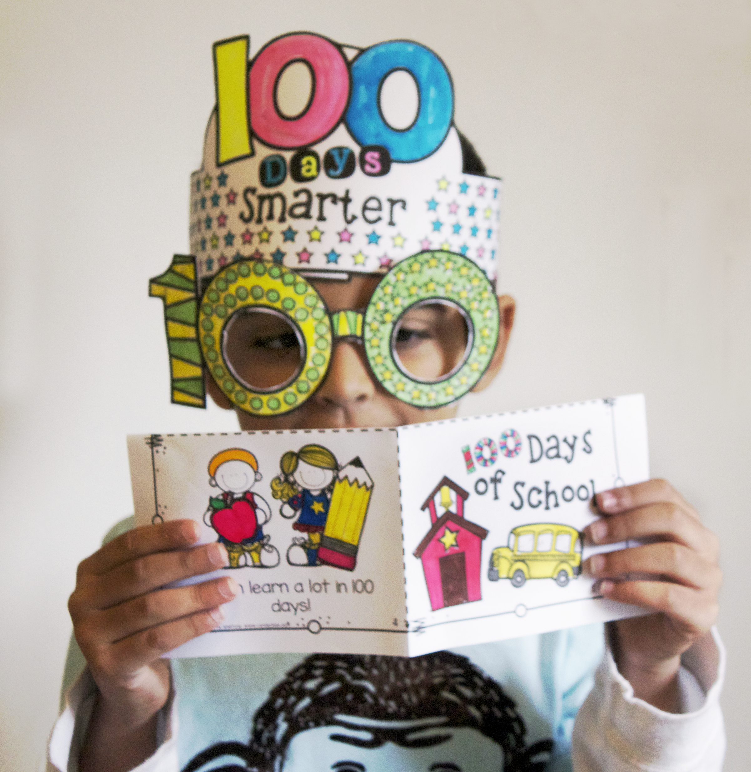 100Th Day Of School….let's Celebrate! - The Candy Class - 100Th Day Of School Printable Glasses Free