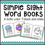 104 Simple Sight Word Books In Color & B/w   The Measured Mom   Free Printable Sight Word Books