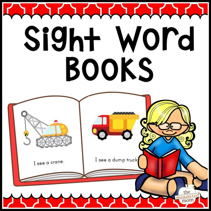 Free Printable Sight Word Books