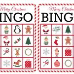 11 Free, Printable Christmas Bingo Games For The Family   Free Printable Bingo Cards