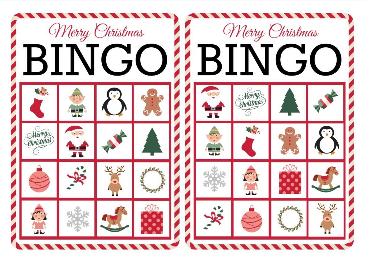 11 Free, Printable Christmas Bingo Games For The Family - Free Printable Bingo