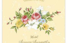 11 Free, Printable Condolence And Sympathy Cards – Free Printable Sympathy Verses