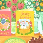 12 Free, Printable Easter Cards For Everyone You Know   Free Printable Easter Greeting Cards