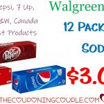 12 Pk Coca Cola And Pepsi Products Only $3.00 Each @ Walgreens   Free Printable Coupons For Coca Cola Products