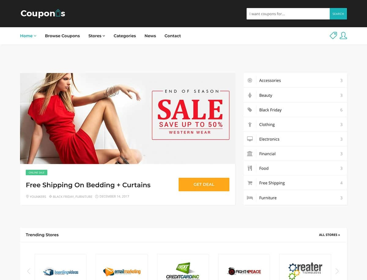 15 Best Coupon WordPress Themes & Plugins 2019 - Athemes - Free Printable Coupons Without Downloads