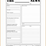 15+ Blank Newspaper Template | Restaurant Receipt   Free Printable Newspaper Templates For Students