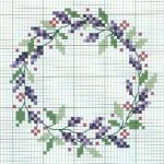 15 Floral Wreath Cross Stitch Patterns   Free Printable Cross Stitch Patterns Flowers
