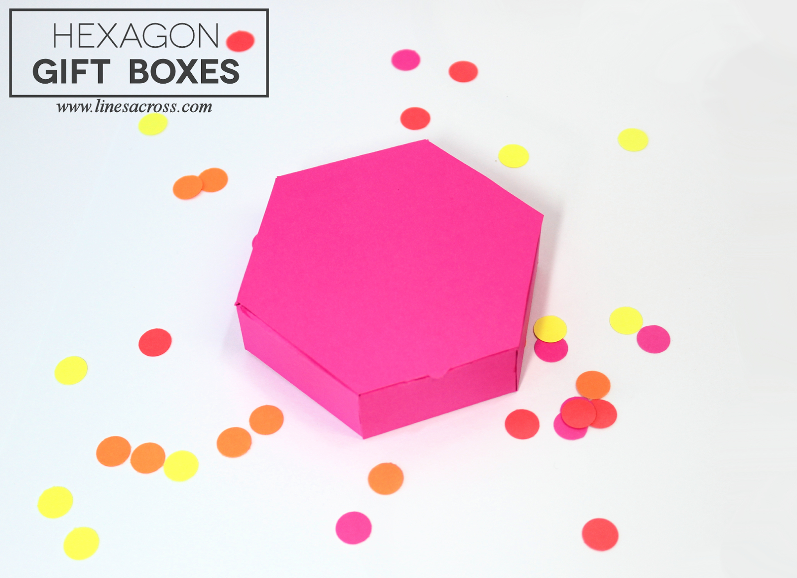 15 Paper Gift Box Templates - Lines Across - Free Printable Gift Boxes