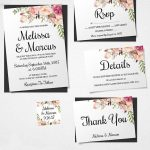 16 Printable Wedding Invitation Templates You Can Diy | Diy Details   Free Printable Wedding Inserts