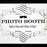 17 Photo Booth Sign Images   Free Printable Photo Booth Sign   Free Printable Photo Booth Sign Template