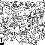 18 Pics Of Heart Coloring Pages Free Printable Doodle Art   Heart   Free Printable Doodle Art Coloring Pages