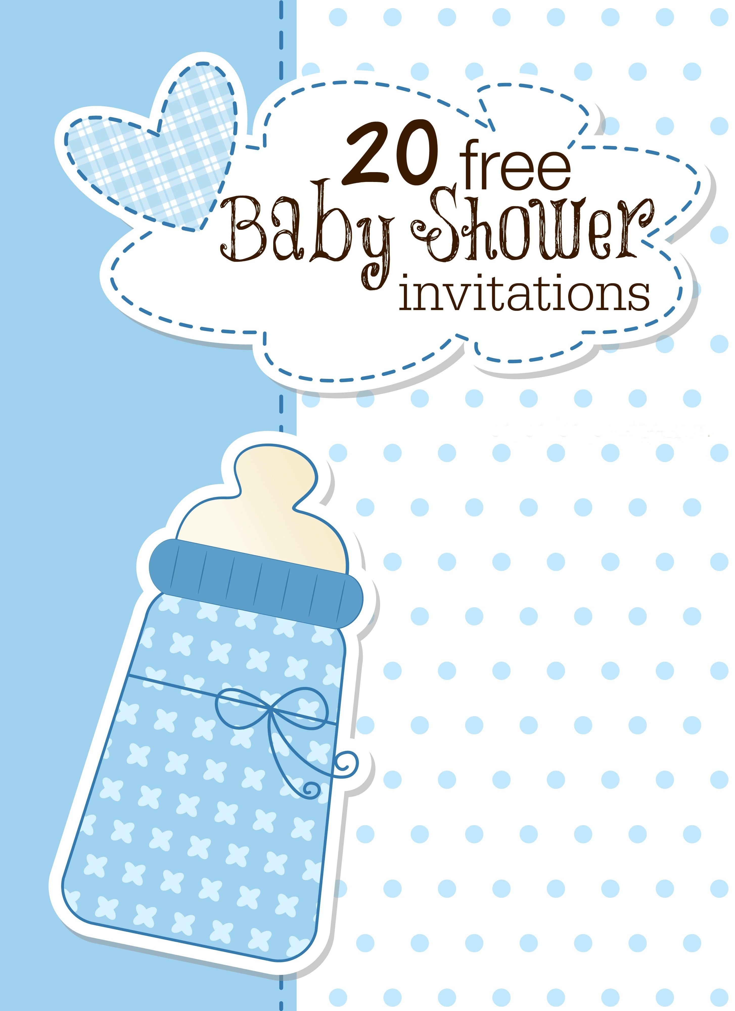 18 Printable Baby Shower Invites - Free Stork Party Invitations Printable