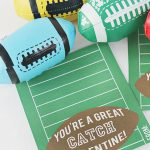 20 Free Valentine Printable Cards | Fun365   Free Printable Football Valentines Day Cards