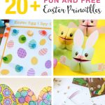 20+ Fun And Free Easter Printables For Kids | The Craft Train   Free Printable Easter Bunting