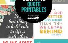 20 Gorgeous Printable Quotes | Free Inspirational Quote Prints – Free Printable Quote Stencils