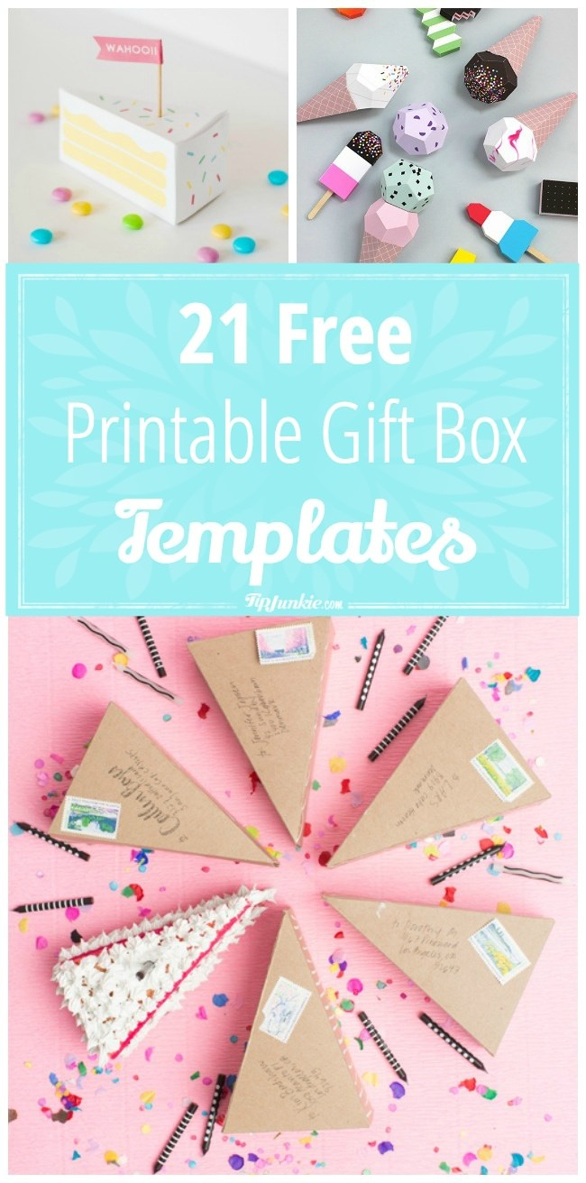 Box Templates Free Printable