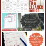 23 Free Printables To Organize Everything | Making Lemonade   Free Printable Home Organizer Notebook