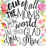 23 Mothers Day Cards   Free Printable Mother's Day Cards   Free Printable Mothers Day Gifts