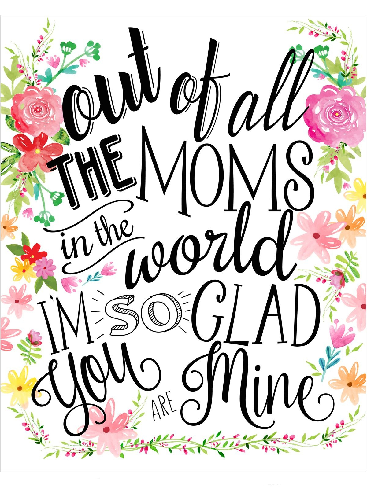 23 Mothers Day Cards - Free Printable Mother's Day Cards - Free Printable Mothers Day Gifts
