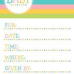 25 Adorable Free Printable Baby Shower Invitations   Free Printable Baby Shower Invitation Maker