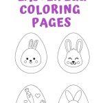 25+ Free Printable Easter Egg Templates & Easter Egg Coloring Pages   Free Printable Easter Pages