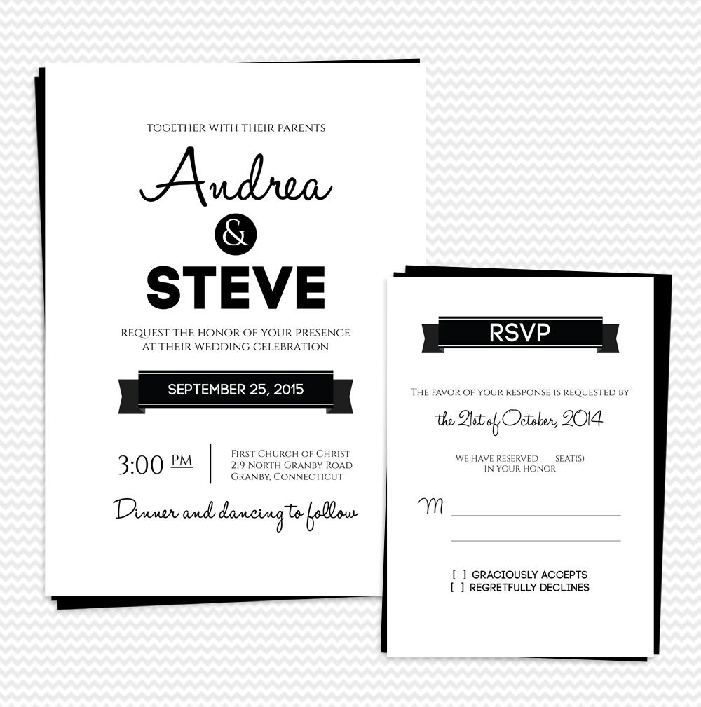 25 Free Printable Wedding Invitations - Free Printable Rsvp