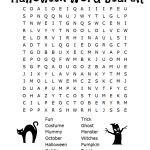 26 Spooky Halloween Word Searches | Kittybabylove   Free Printable Halloween Word Search Puzzles