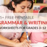 29 Printable Grammar Worksheets That Will Improve Students' Writing   Free Printable Grammar Worksheets For Highschool Students