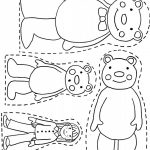 3 Bears Printable  Want Use To Make Magnet Board Pieces For   Free Printable Goldilocks And The Three Bears Story
