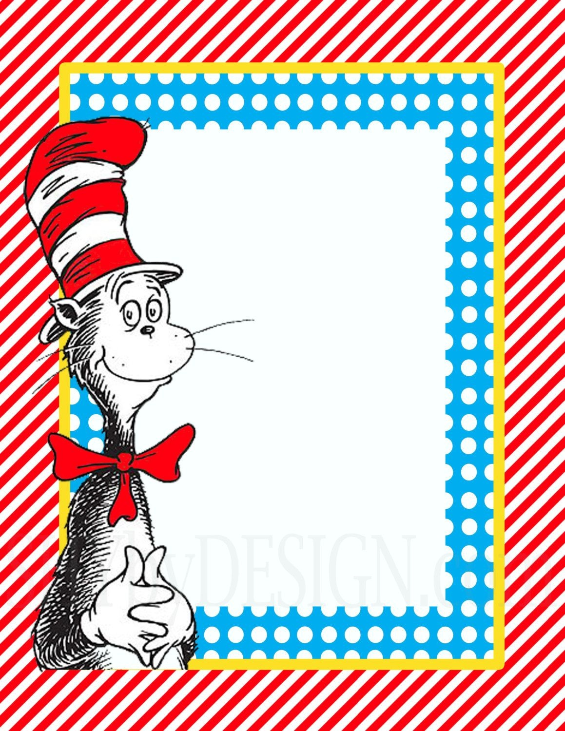 3 Diy Printable Dr. Seuss Sign Templates | Its So Seussical | Dr - Dr Seuss Free Printable Templates