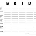 3 Free Printable Bridal Shower Games (That Are Actually Fun) | When   Scattergories Free Printable Sheets
