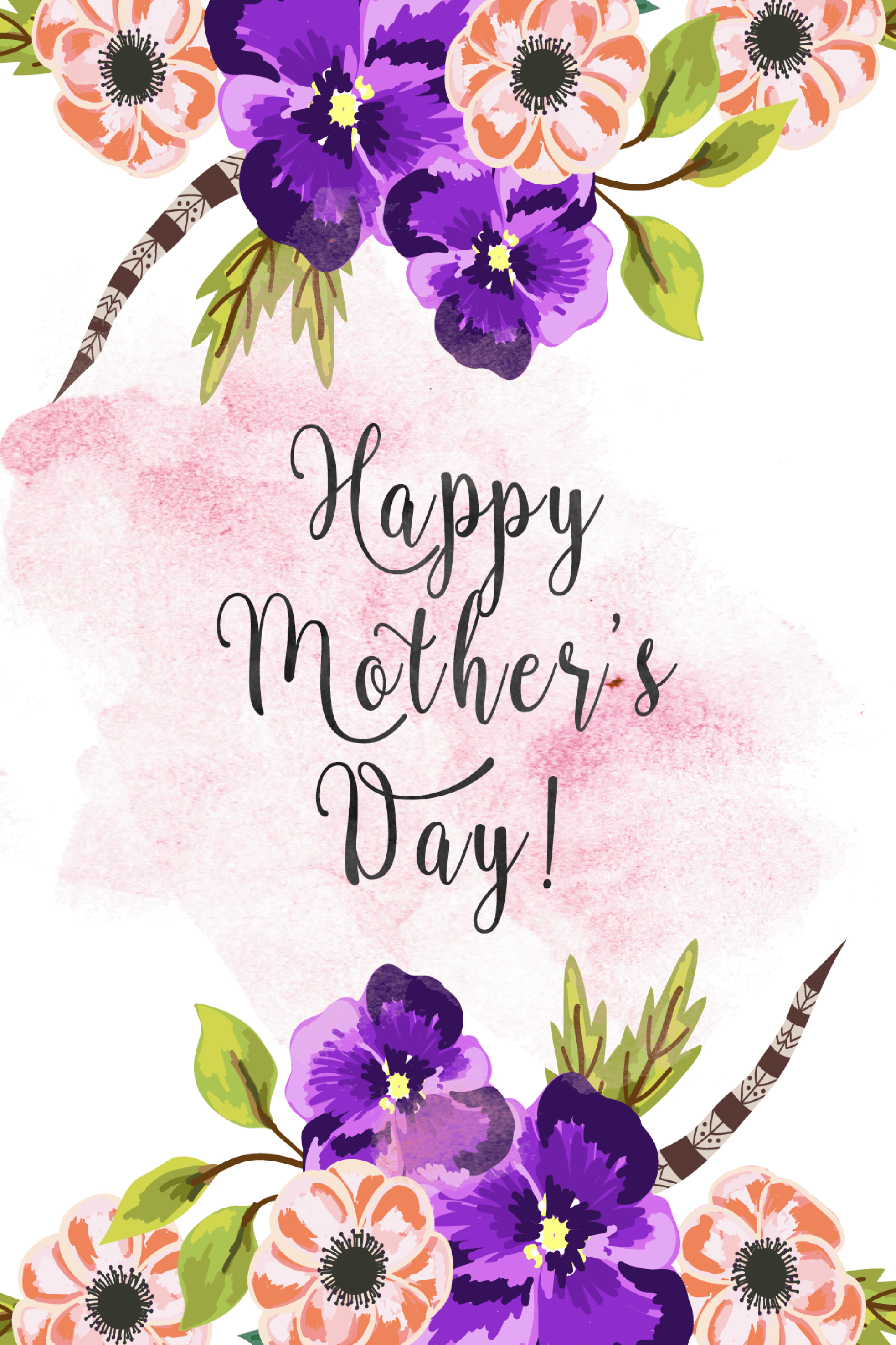 30 Cute Free Printable Mothers Day Cards - Mom Cards You Can Print - Free Printable Mothers Day Cards From The Dog