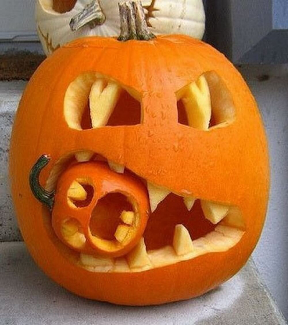 30+ Easy Halloween Pumpkin Carving Ideas 2019 | Pumpkin Carving Ideas - Hard Pumpkin Carving Patterns Free Printable