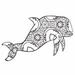 30 Free Printable Geometric Animal Coloring Pages | The Cottage Market   Free Coloring Pages Animals Printable