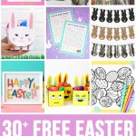 30+ Totally Free Easter Printables   Happiness Is Homemade   Free Printable Easter Basket Name Tags