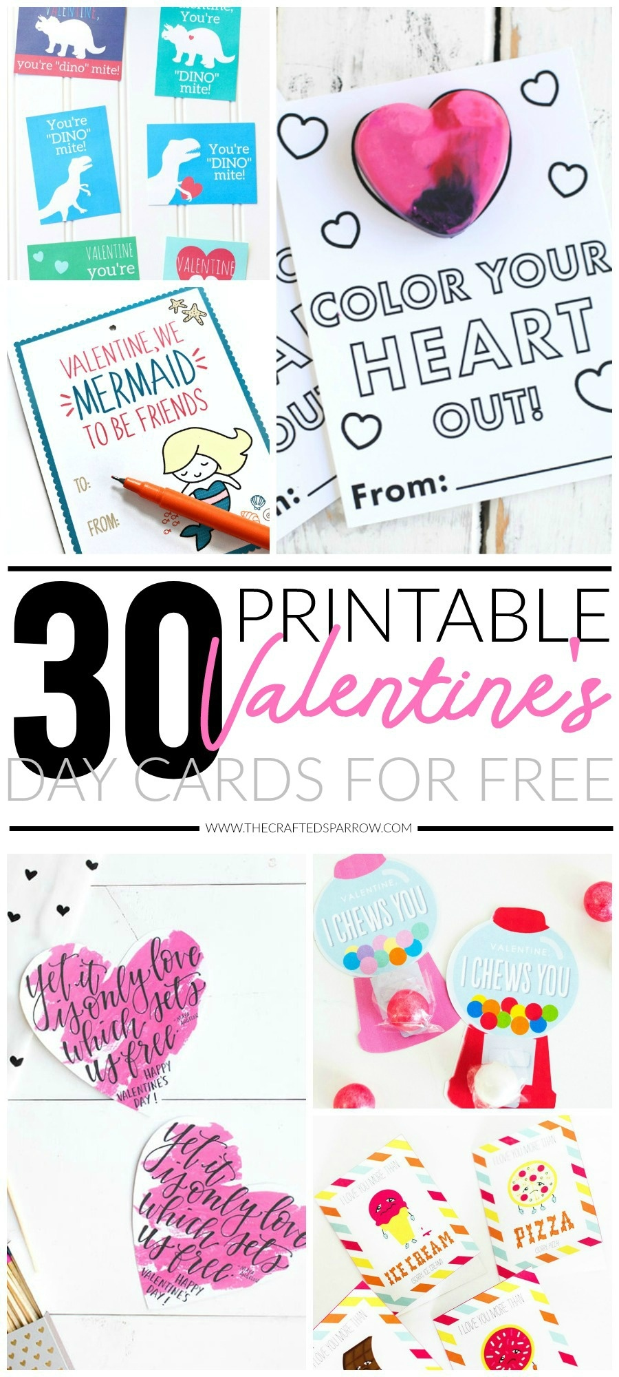 30 Valentines Day Printable Cards - Free Printable Football Valentines Day Cards