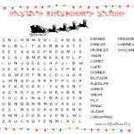 31 Free Christmas Word Search Puzzles For Kids – Free Printable Christmas Puzzles
