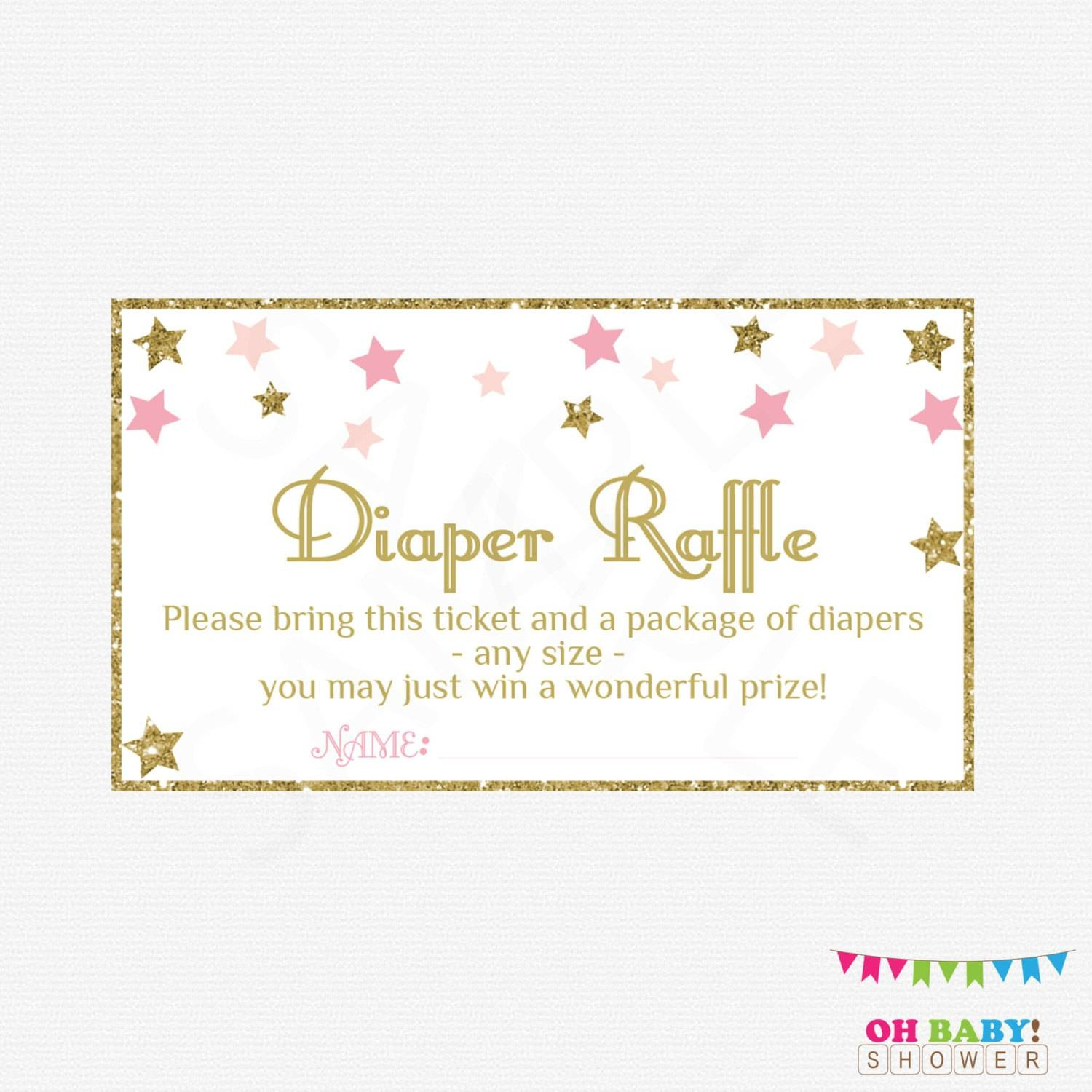 36 Cute Diaper Raffle Tickets | Kittybabylove - Diaper Raffle Template Free Printable